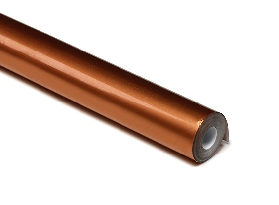 Bedecken Film Metallic Kupfer (5mtr) 028-2