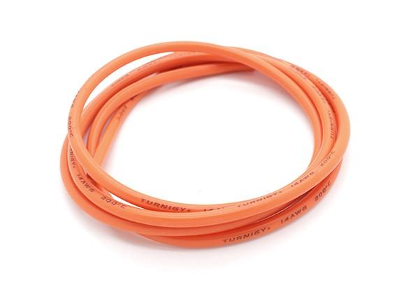 Turnigy Pure-Silikon-Draht 14AWG 1m (orange)