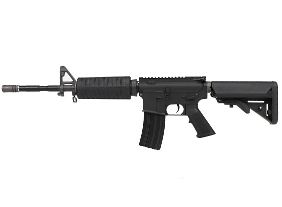 WE KATANA M4A1 AEG (schwarz, M90 Blau Zylinder)