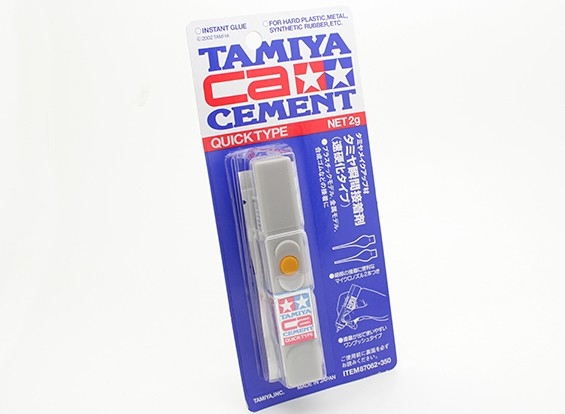Tamiya CA Cement Schnell Typ (Net 2g)