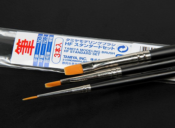 Tamiya High-End Standard 3 Stück Pinsel-Set