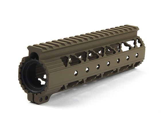 Dytac Invader Lite 7.2-Zoll-Rail-System (Dark Earth)