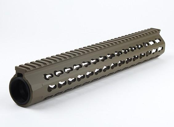 Dytac UXR4 13-Zoll-Schiene für Systema PTW Profil (1 1/4 Zoll / 18, dunkle Erde)