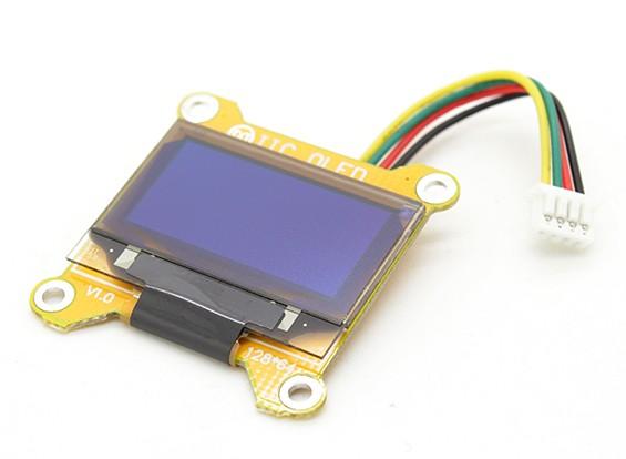 Multiwii MINI OLED-Display-Modul Dual-I2C 128x64 Dot (MWC MINI)