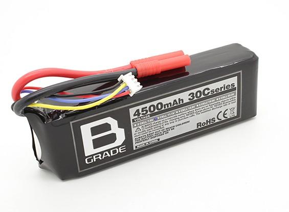 B-Grade 4500mAh 3S 30C Lipo Akku