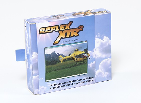 Reflex XTR2 Ultimate Edition mit Futaba 6 Pin-Platz-Kabel