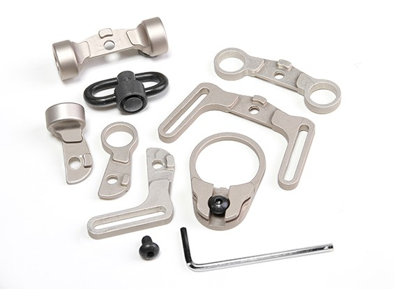 Element EX247 Multi-Funktions-Riemen-Schwenker-Kit für M4 GBB (TAN)