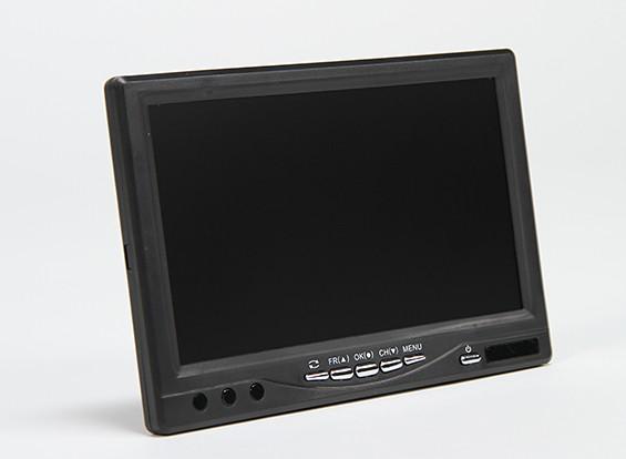 7 Zoll 720 × 576 (PAL) 720 × 480 (NTSC) 5.8Ghz 32CH FPV Monitor & Receiver mit DVR SkyZone RC800 DVR
