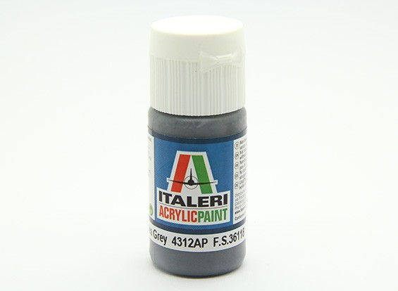 Italeri Acrylfarbe - Wohnung Extra Dark Sea Grey