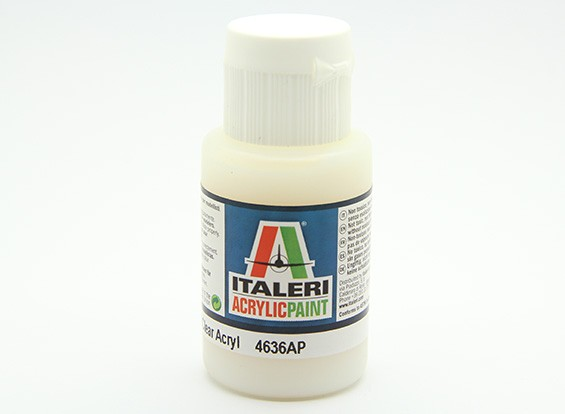 Italeri Acrylfarbe - Flach Klar