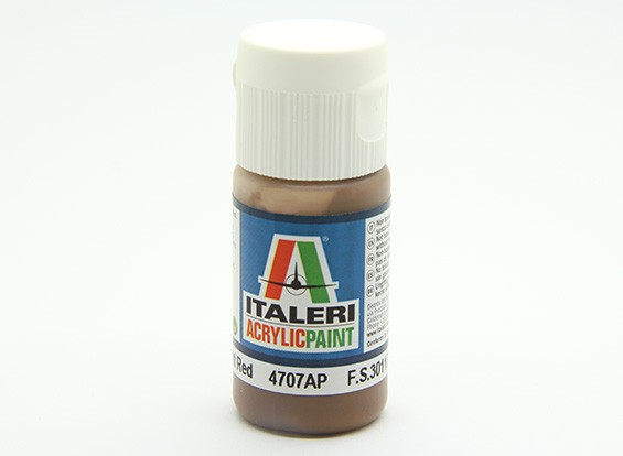 Italeri Acrylfarbe - Flat Earth Red