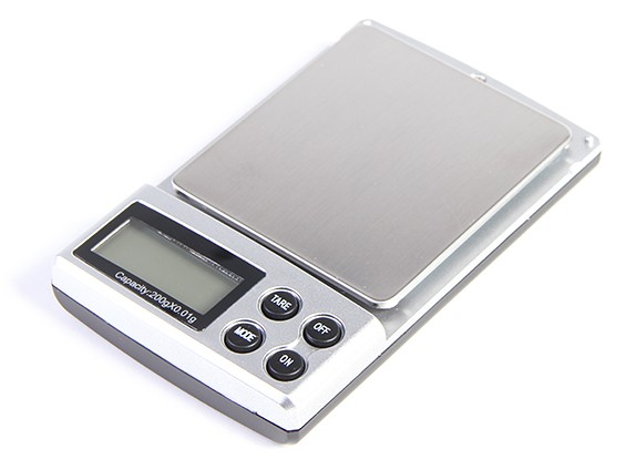 Digitale Taschenwaage 0,01g / 200g