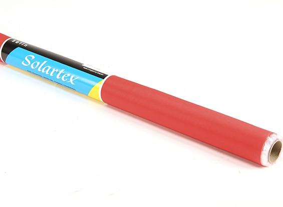 Satin Solartex Vorlackierte Eisen-Auf Stoffbespannung (Rot) (5mtr)