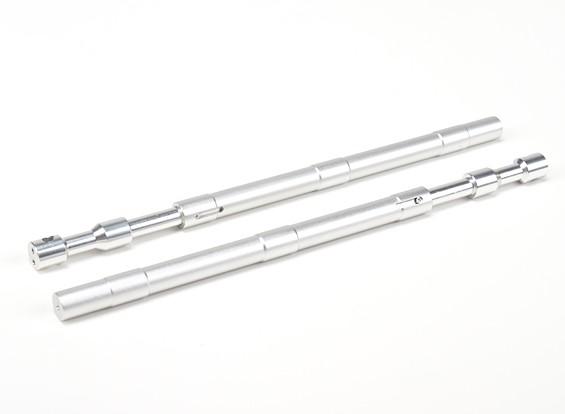 Alloy Gerade Oleo Struts 230mm ~ 12,7 mm (2 Stück)