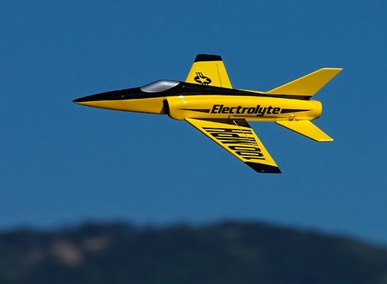 Hobbyking ™ Electrolyte 40mm EDF Micro Jet Composite-508mm (ARF)