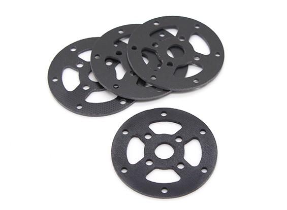 Hobbyking ™ Carbon Motorhalterung für SK450 (42mm) 4er Pack
