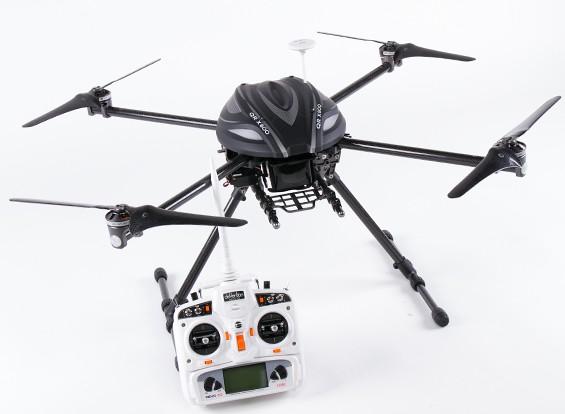 Walkera QR X800 FPV GPS QuadCopter w / G-2D-Gimbal, Einziehfahrwerk, DEVO 10 (Ready to Fly) ** BALD **