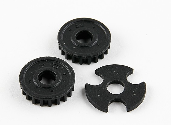 Basher RZ-4 1/10 Rally Racer - Fest Pulley 20T (2 Stück)