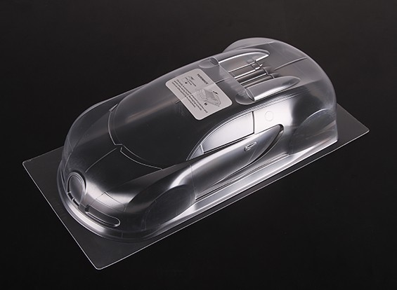 01.10 Bugatti Veyron 16.4 Clear Body Shell