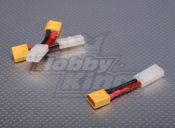 Weiblich Tamiya <-> Male XT60 (3pcs / bag)