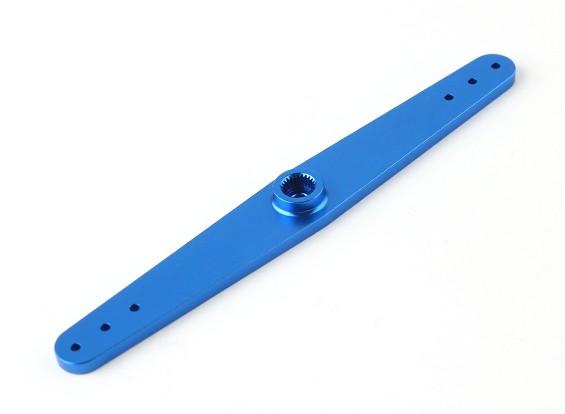 """Servo Arm Voll Arm 4 """"Blue Color (Turnigy)"""