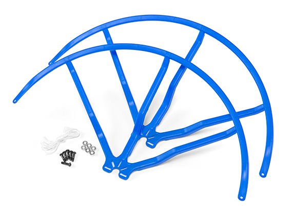 10-Zoll-Kunststoff-Universal-Multi-Rotor Propellerschutz - Blau (2set)