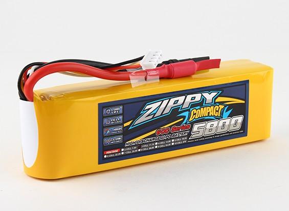 ZIPPY Compact 5800mAh 3s 60c Lipo-Pack