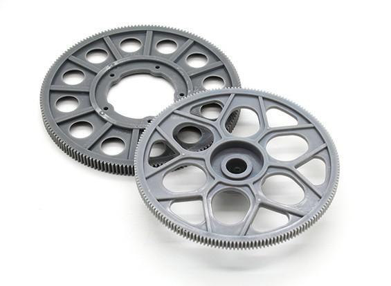 Tarot 600 Main Gear und Endstück-Antriebszahnrad-Set (TL60019)