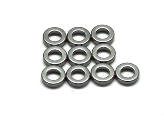 VBC Racing WildFireD06 - T1.5 7075 Spacer (10 Stück)