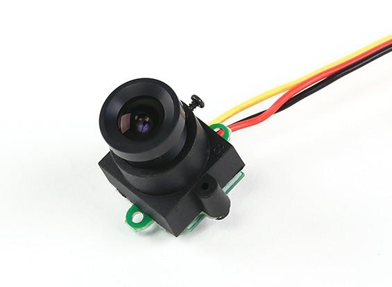 Mini CMOS FPV Kamera 520TVL 120deg Sichtfeld 0.008lux 17x17x24mm (NTSC)