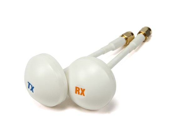 Zirkular polarisierte 5,8GHz Empfänger Antenne (RP-SMA) (RHCP) (100 mm)
