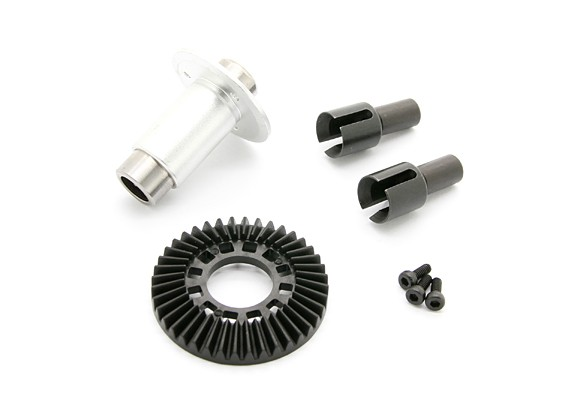 BSR Racing M.RAGE 4WD M-Chassis - Option One-Way Diff.