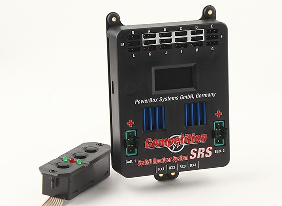 PowerBox Competition SRS w / Sensor-Schalter