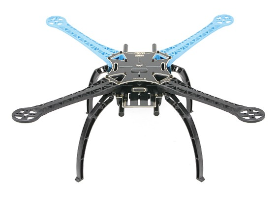 S500 Glass Fiber Quadcopter Rahmen 480mm - Integrierte PCB Version