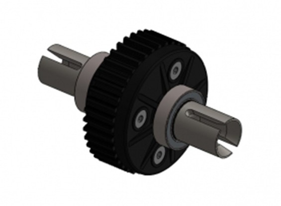 Differentialgetriebe Set - 3Racing SAKURA FF 2014