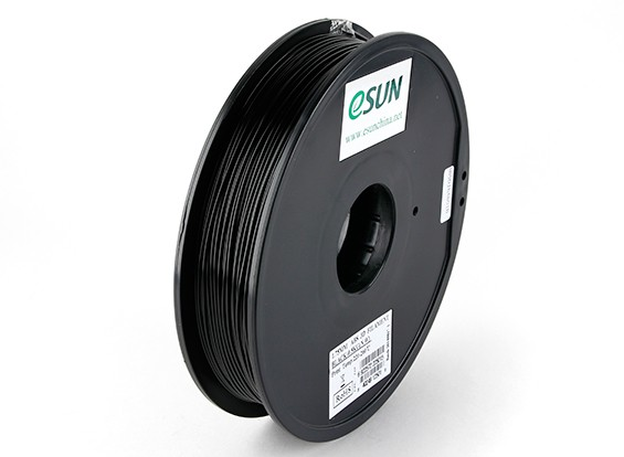 ESUN 3D-Drucker Glühfaden Schwarz 1.75mm ABS 0.5KG Spool