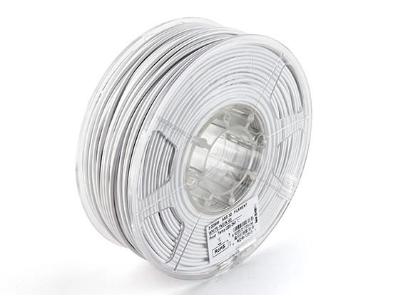 ESUN 3D-Drucker Glühfaden Weiß 3mm ABS 1 KG Rolle