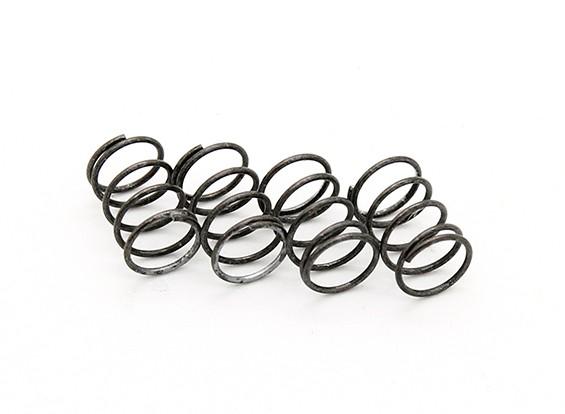 RiDE F1 Front Spring für Rubber Tire - Silber Soft (4 Stück)