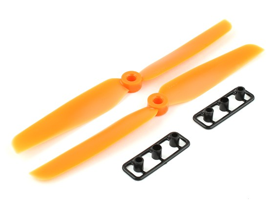 Gemfan Propeller 6x3 Orange (CW / CCW) (2 Stück)