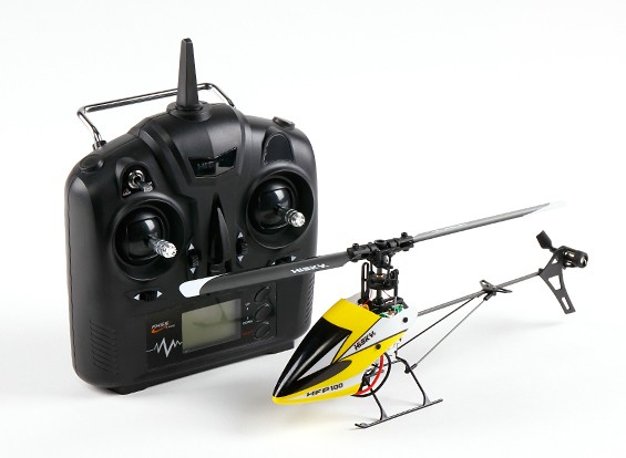 HiSky HFP100 V2 Mini Fixed Pitch RC Hubschrauber Mode 2 (Ready-To-Fly)