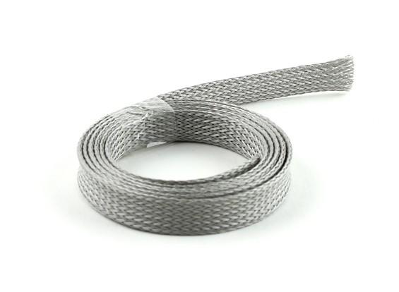 Schutzgitter Grau 10mm (1m)