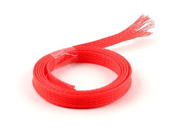 Wire Mesh-Schutz Neon Red 8mm (1m)