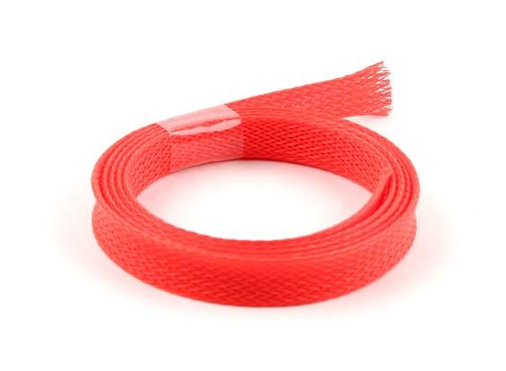 Schutzgitter Neon Red 10mm (1m)
