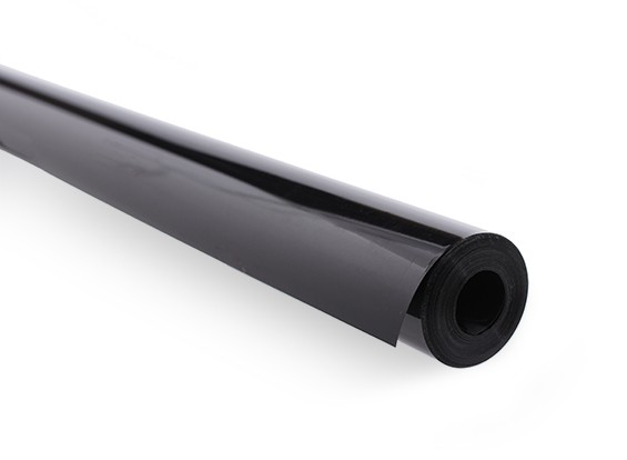 Abdeckfolie Solid Black (5mtr) 114