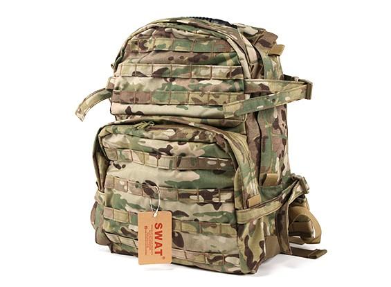 SWAT Military Angriffs-Rucksack mit Trinksystem (Multicam)