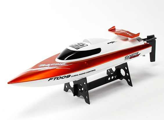 FT009 High Speed ​​V-Rumpf-Rennboot 460mm - Orange (RTR)