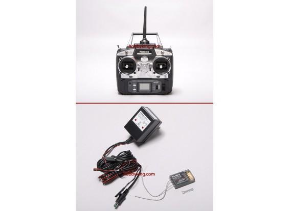 Futaba 2.4GHz 6EX FAAST Radiosystem w / R617FS Empfänger (Mode 1)