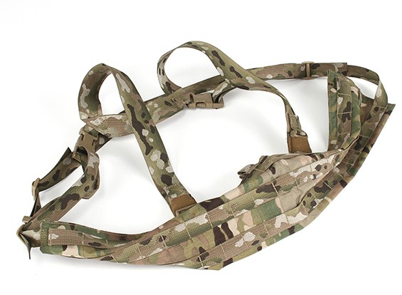 Grey Ghost-Gang-Angriff Chest Rig-Modular (Multicam)