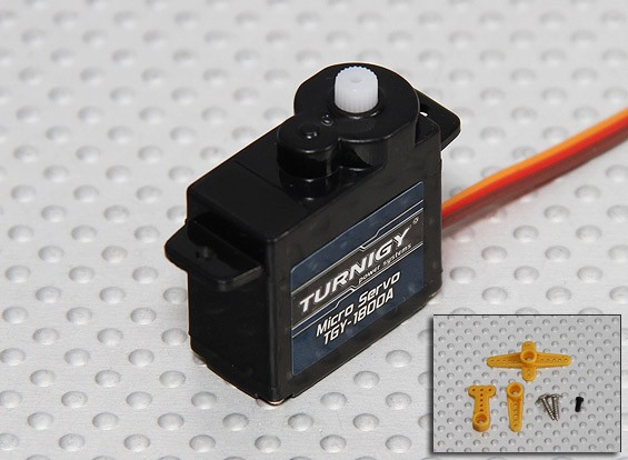 Turnigy ™ TGY-1800A Servo 1,5 kg / 0.10sec / 8G
