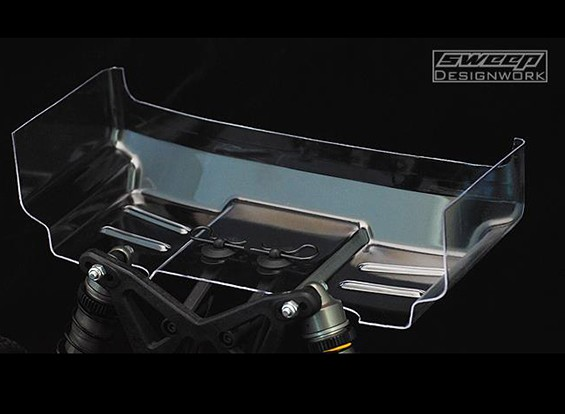 """Sweep 01.10 Buggy Klar Flügel - 6.5 """"- 1 mm (2 Stück)"""